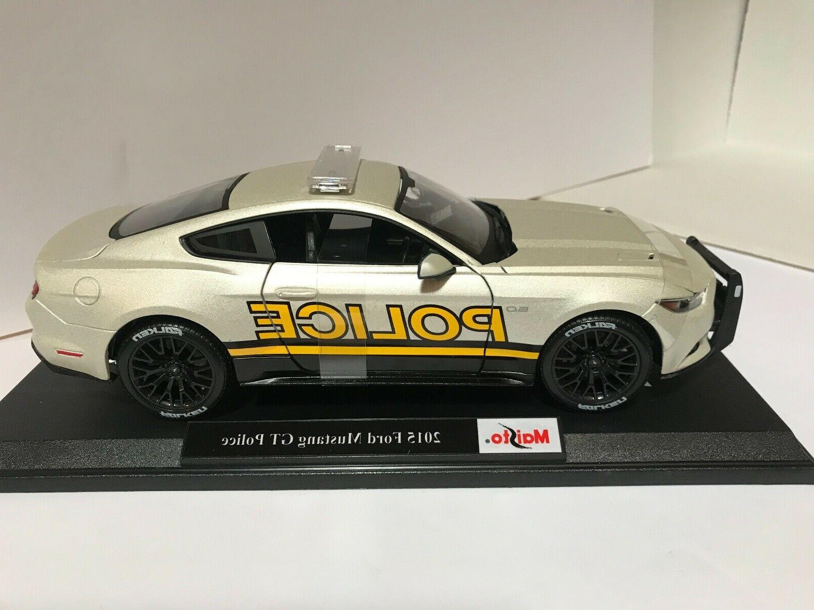 Maisto 118 scale 1968 ford mustang gt cobra jet diecast vehicle