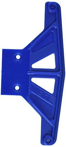 RPM Wide Front Bumper Black Rustler, Stampede, Bandit, Blue
