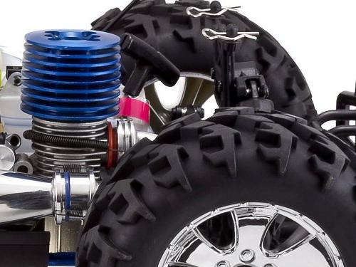 Redcat Racing Monster Truck Nitro 2-Speed with 2.4GHz Red/Black