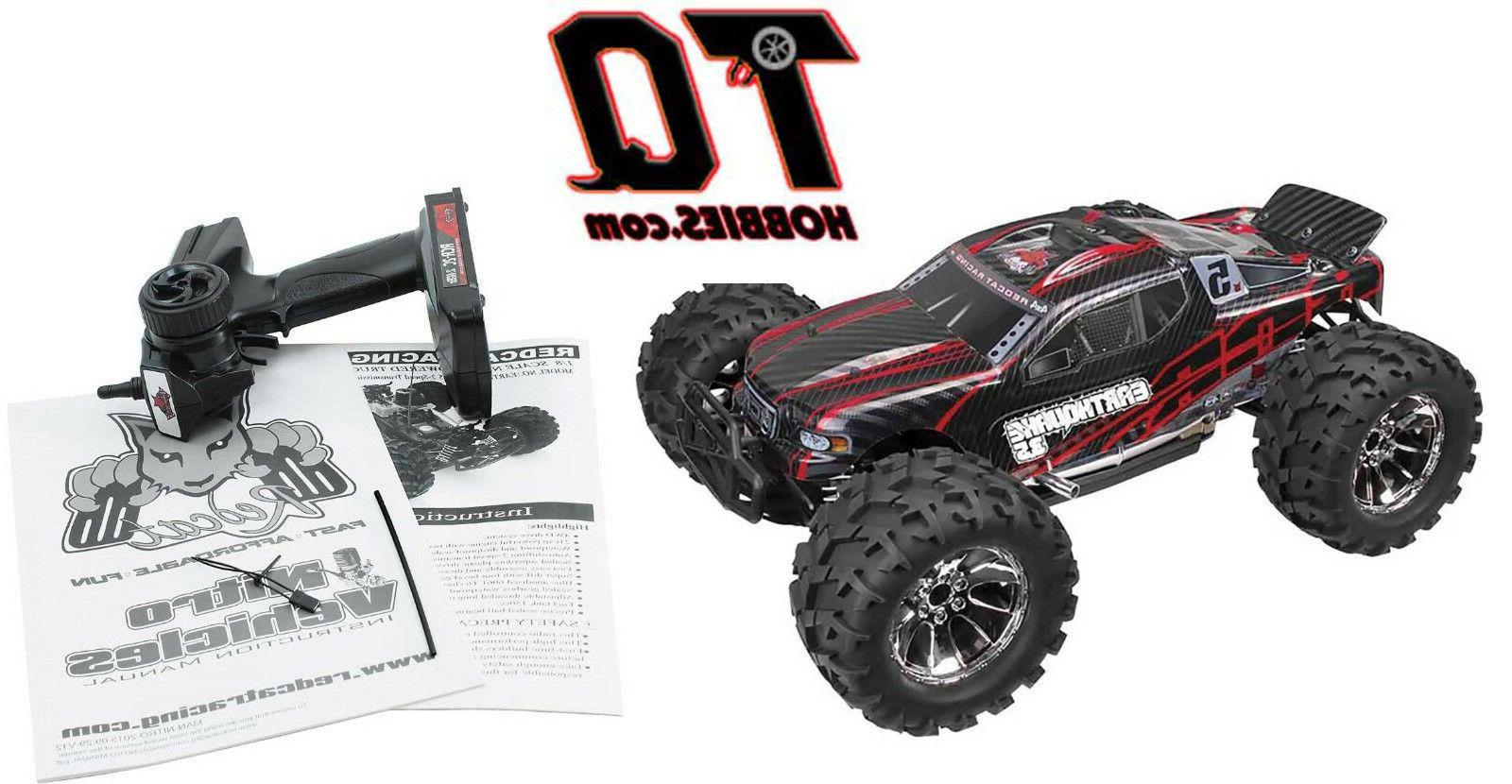 Redcat Monster with Radio Red/Black