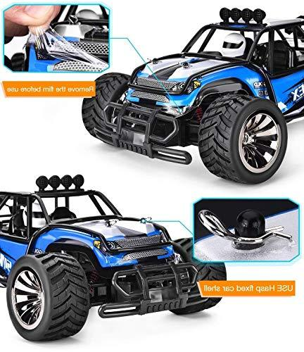 SIMREX Rc High 20Mph Scale RTR Remote Control Monster Truck Off Road Car 2WD Power W/2.4G Challenger