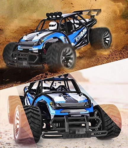 SIMREX High 20Mph RTR Remote Control Monster Car Big Rc W/2.4G Challenger Blue