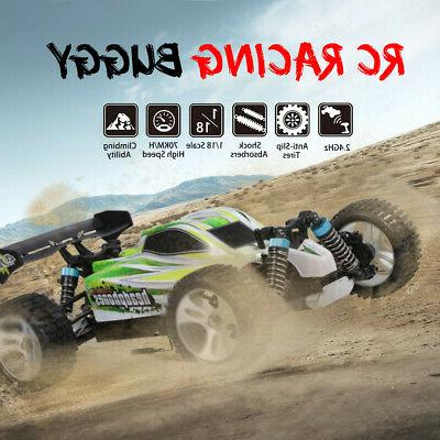 WLtoys RC Car 2.4GHz Off Road 70KM/H Speed Vehicle Toy