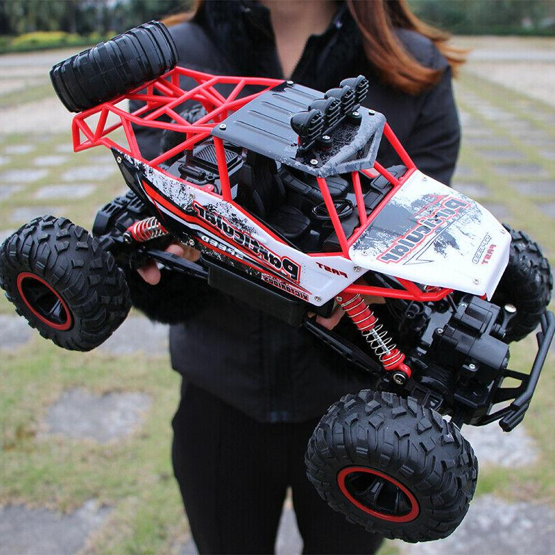 Monster Truck 2.4G Rock Climbing Car Off-Road Remote 36Cm