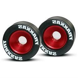 Alum. Wheels, RedRubbr Tires: Revo,E-Revo