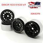 "4PCS 1.9"" Aluminum Beadlock Wheel Rims For SCX10 CC01 RC4WD"