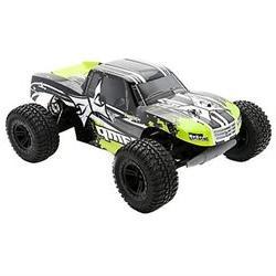 AMP MT 1:10 2WD Monster Truck: Black/Green RTR ECX03028T2 EC