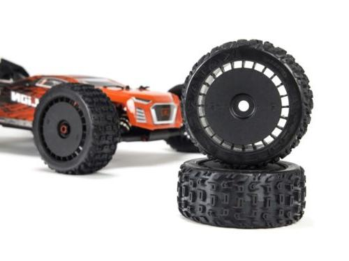TALION 6S 4WD Speed Truggy Red /
