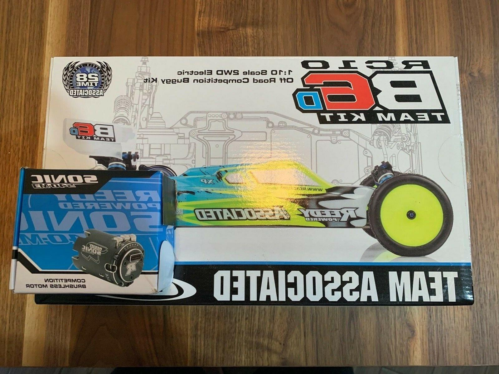Associated Electrics Asc90012 Rc10B6D 1:10 Scale 2Wd Electri