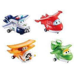 Auldey Super Wings Transform-a-Bots Planes - Jet 4 Pack