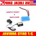 7.4V 1100mAh Battery+Balance Charger Part For WLtoys RC A959