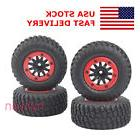 4Pcs Bead-Lock 1:10 Short Course Truck Tires&Wheel Rim For R
