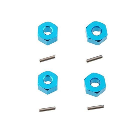 blue aluminum wheel hex mount