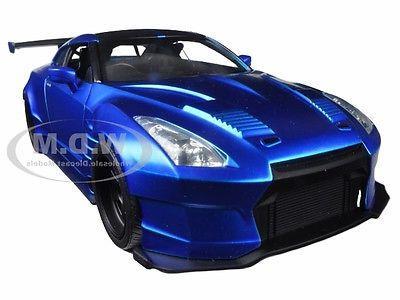 """BRIAN'S 2009 NISSAN GTR R35 BLUE BEN SOPRA """"FAST & FURIOUS """""""
