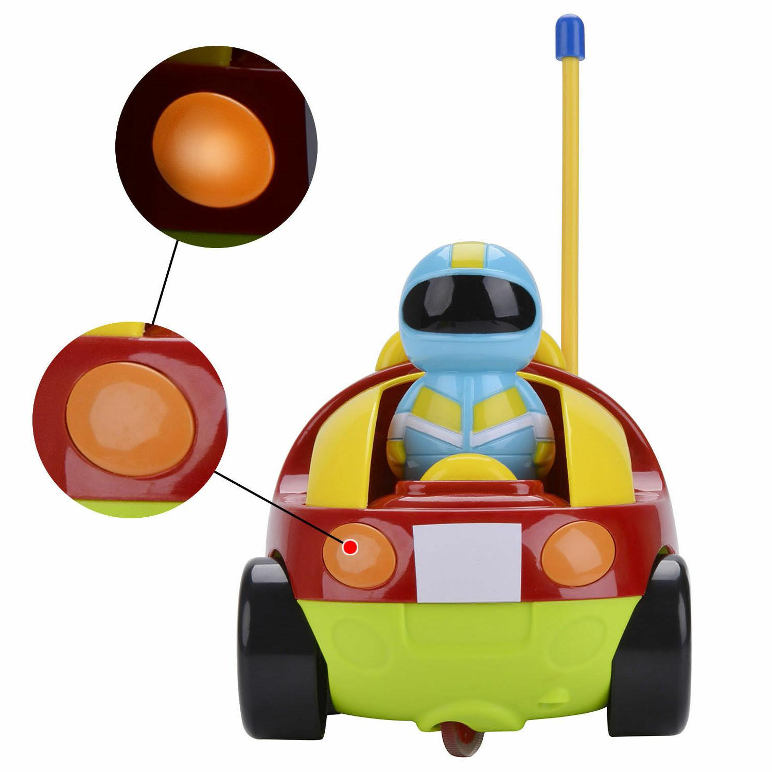 Cartoon with Radio Control for Toddlers Kids
