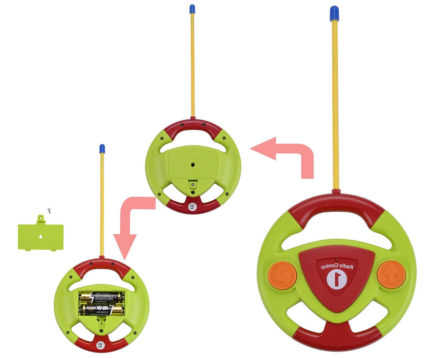 Cartoon with Radio Control for Toddlers