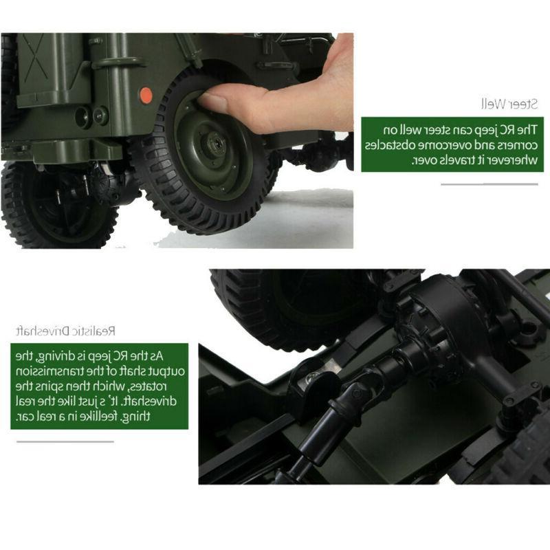 CES JJRC 2.4G 1/10 Truck Rock Crawler Off-Road