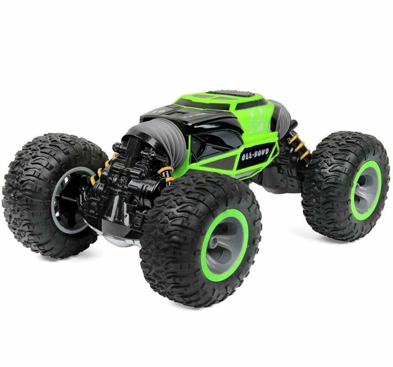 Click Control Rc Car Sided Stunt Rock Non