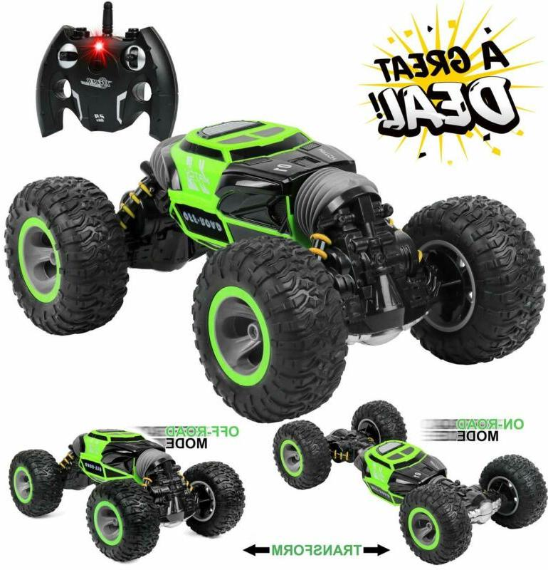 Click N' Play Control Car Sided Road Rock Crawler Non