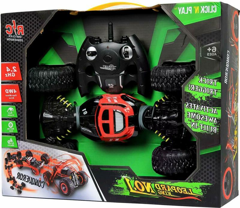 Click Control Rc Car Sided Off Stunt Rock