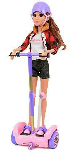 Click N' Play Remote Control Hoverboard Pink & Purple Perfec