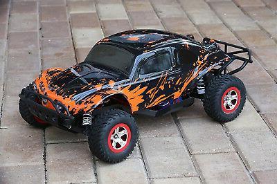 Custom Buggy Body Muddy Orange for Traxxas Slash 1/10 Shell