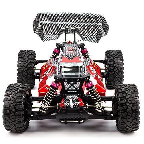 Cheerwing RC Car 2.4CHZ 4WD Road RC Remote Truck Red