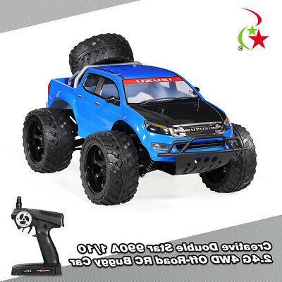 Creative 1/10 2.4G 4WD Rock Crawler Off-Road Truck 25 KM/H R