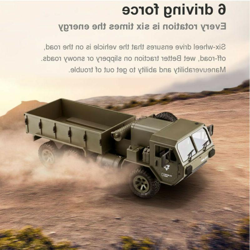 RC Car1/16 6WD Remote Control Vehicle 2.4G Climbing Off-road