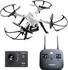 Force1 F100 Ghost Drone With Camera, 1080p HD Sports Action