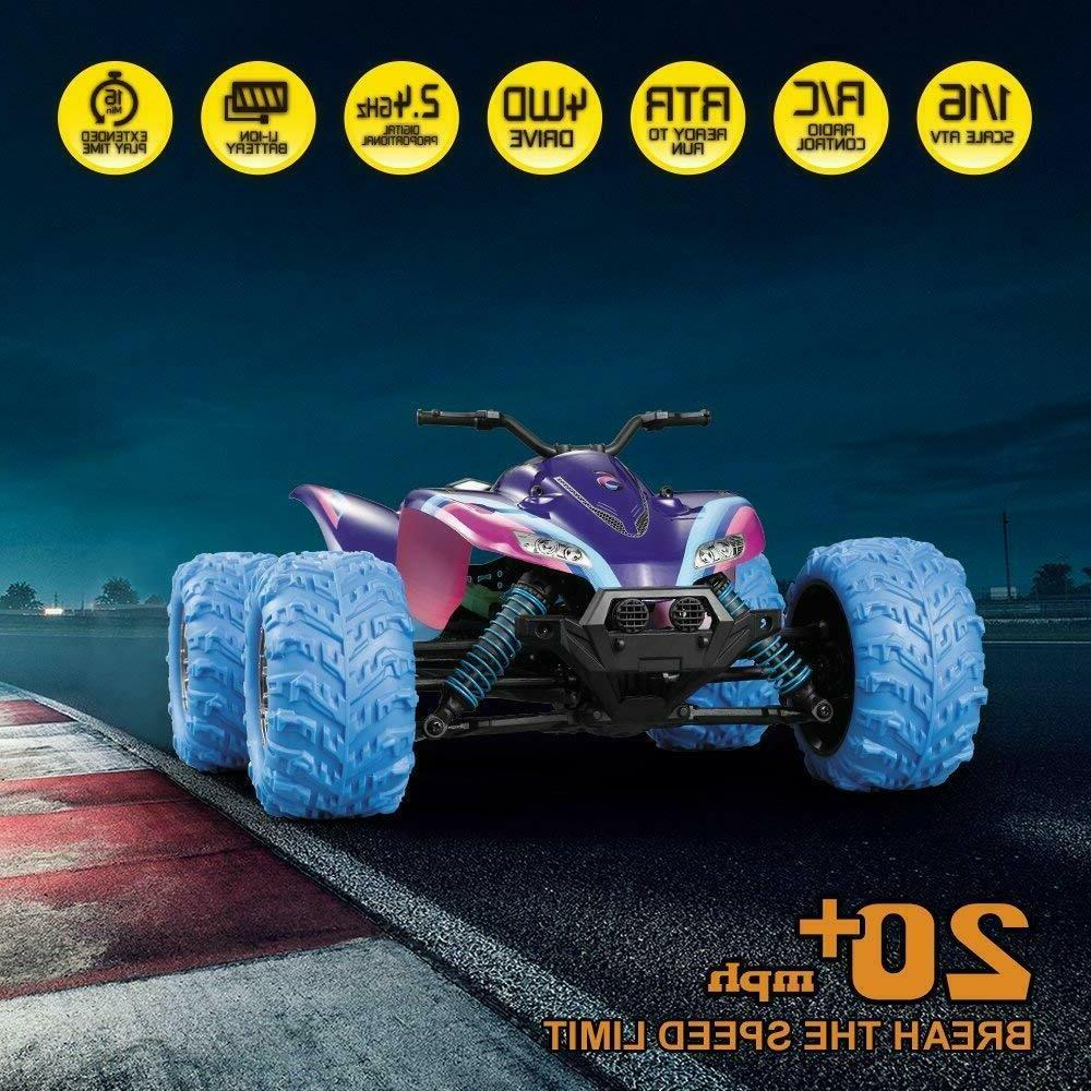 High Speed RC 1:16 2.4GHz 4WD Off Vehicle