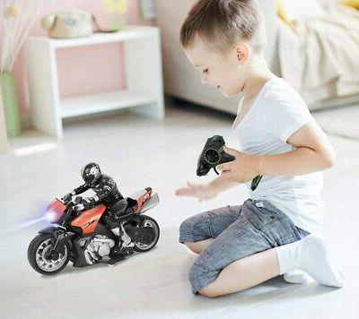 Click Play Motorcycle Riding Figure