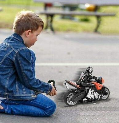 Click Play High Speed RC Motorcycle