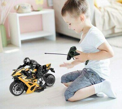 Click N' Play High Speed Remote Stunt with Figure