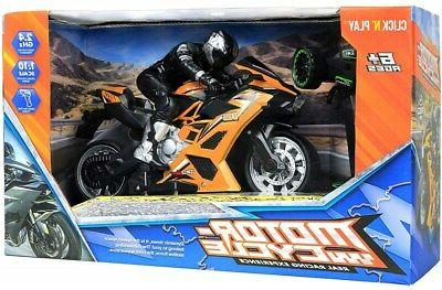 Click Play Speed Remote Stunt Figure
