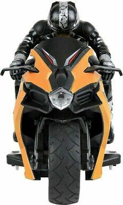 Click N' Play Speed RC Stunt Motorcycle with Riding Figure