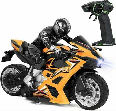 high speed rc remote control stunt motorcycle