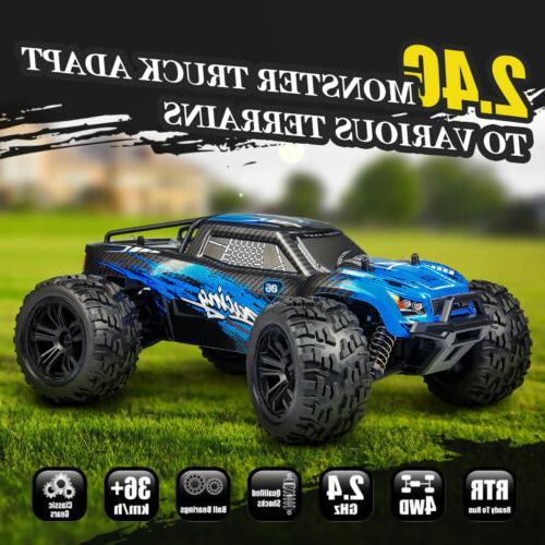 Hosim 2.4Ghz RC Monster Truck Remote Car Road