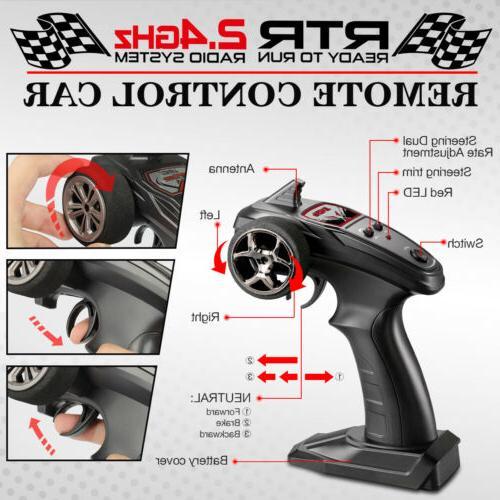 Hosim 1:14 RC Monster Radio Remote Control Car Road RTR
