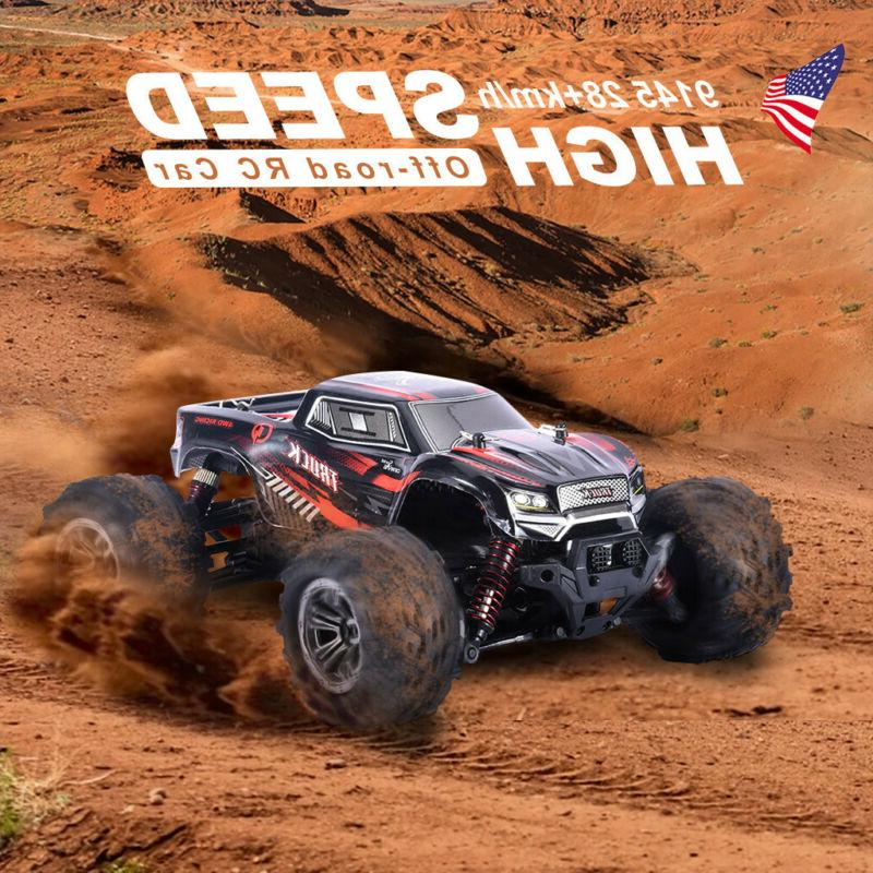 RC Car 4WD Monster Truck 1:16 Scale 2.4Ghz Off-Road Remote C