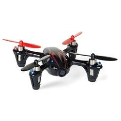 Hubsan X4  4 Channel 2.4GHz RC Quad Copter with Camera - Red