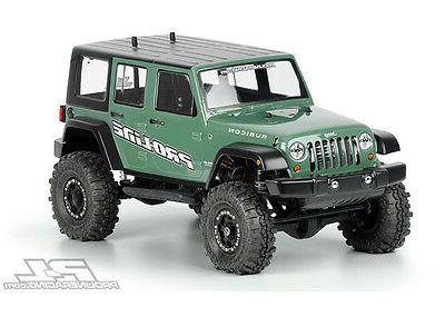 PRO-LINE 3336-00 Jeep Wrangler Unlimited R28. con Clear Body