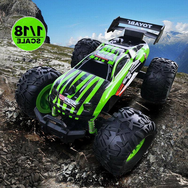 1:18 RC Big Wheel Monster Truck RC RACING Car Remote Control