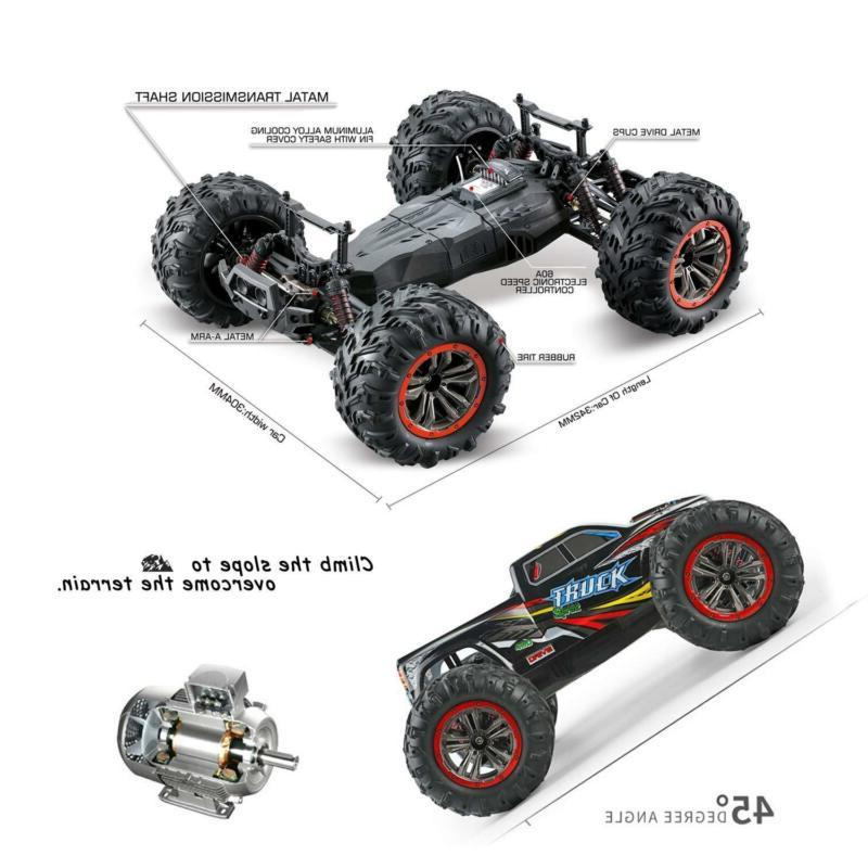 Hosim Large Size 1:10 Scale High Speed 4WD Remote
