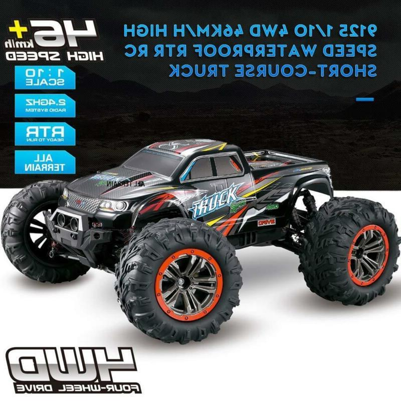 Hosim Large Scale Speed 4WD 2.4Ghz Remote Truck