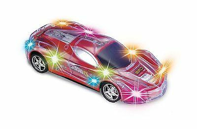 Haktoys Light Up RC Car for Kids Boys & Girls with Spectacul