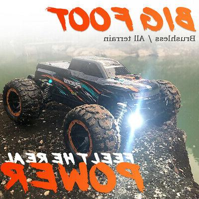 Linxtech 1/16 Car 45km/H Brushless 4WD RC Race Toy US O7G0