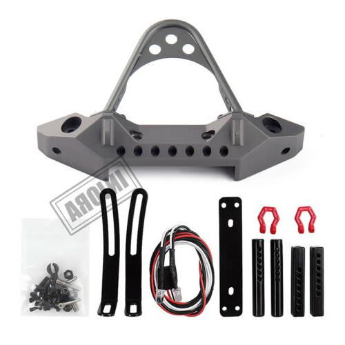 metal front bumper with led light