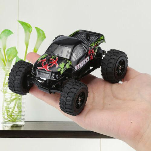 Mini RC Monster Truck Electric Car Off-road 1/32 2.4G 2WD 20