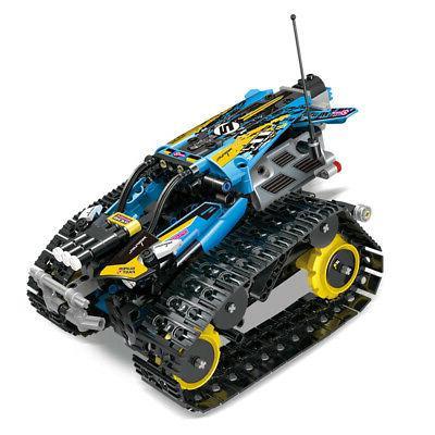 MoFun 2.4GHz RC Building Blocks Car Tank Stunt APP Control G